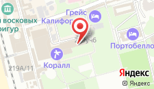 Санаторий Дельфин Адлеркурорт на карте