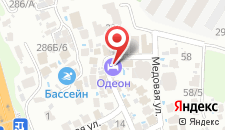 Гостиница Одеон на карте