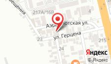 Гостевой дом Алгор на карте