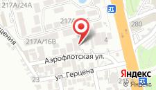 Гостиница АэроСтар на карте