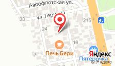 Гостевой дом Нина на карте