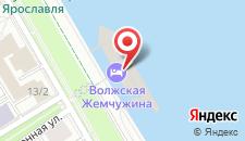 Гостиница Волжская жемчужина на карте