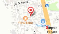 Гостевой дом Афалина на карте