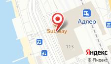 Отель Терминал на карте
