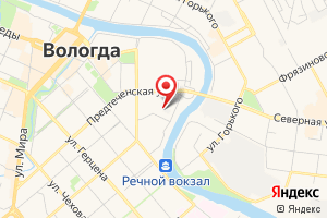 Адрес подстанция Центральная 110 кВ на карте