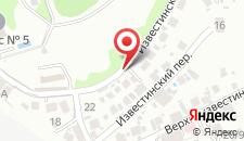 Отель Сибирь на карте