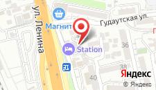 Хостел Station на карте