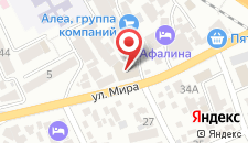 Гостевой дом Анита на карте