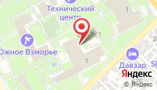 Санаторий Южное Взморье на карте