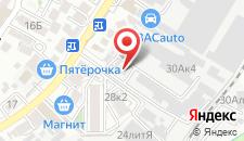 Хостел Sochi Stars на карте