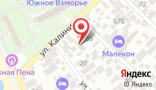 Отель Ван на карте