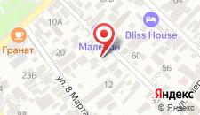 Гостевой дом Амур на карте