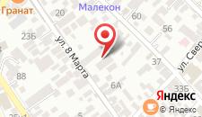 Отель Ювента на карте