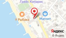Гостиница Адельфия на карте
