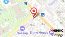 Гостиница Red House на карте