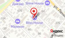 Мини-отель Bliss House на карте