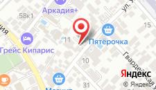 Гостиница Эдем-1 на карте