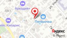 Отель Майский на карте