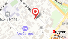 Гостевой дом Гринго на карте
