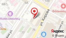 Гостиница ПрофСпорт на карте