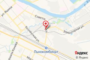 Адрес Коопстройсервис на карте