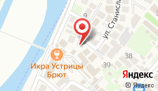 Гостевой дом Александра на Станиславского на карте