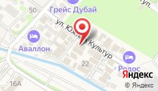 Гостиница Ростов на карте