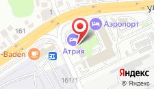 Отель Атрия на карте