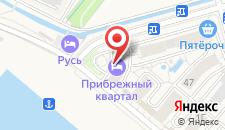 Апарт-отель Имеретинский - Прибрежный квартал на карте
