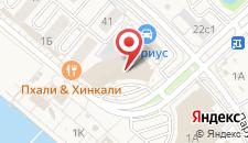 Отель Имеретинский на карте