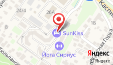 Хостел SunKiss на карте