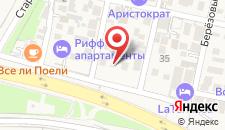 Хостел Олимп на карте