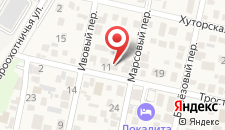 Гостиница Аристократ на карте
