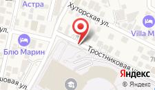 Гостевой дом Milena на карте