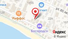 Отель Олимп Первая Линия на карте