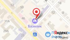 Гостиница Базилик Чаплыгин на карте