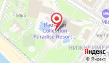 Курортный отель Radisson Blu Paradise Resort and Spa на карте