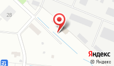 Гостиница Правобережная на карте
