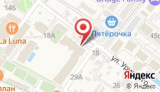 Отель Sport Inn на карте