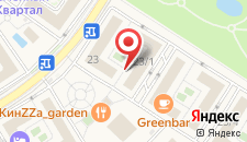 Курортный отель Бархатные Сезоны Русский Дом Спортивный Квартал на карте