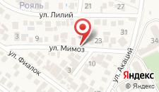Гостевой дом Loft Sochi на карте