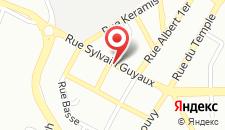 Отель Hotel La Louve на карте