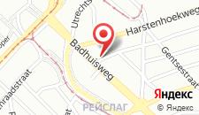 Отель Hotel 't Witte Huys Scheveningen на карте