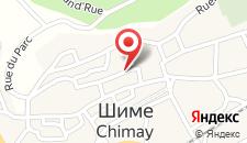 Отель Chimay B&B на карте