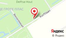 Парк-Отель Recreatiecentrum Delftse Hout на карте