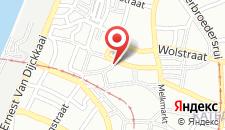 Хостел Antwerp City Hostel на карте