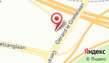 Отель Crowne Plaza Antwerpen на карте