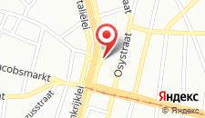 Хостел The ASH на карте