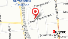 Отель Lindner Hotel & City Lounge Antwerpen на карте