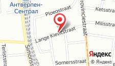 Отель ibis budget Antwerpen Centraal Station на карте